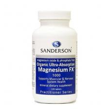 [샌더슨] 마그네슘 120정 1개(근육경련)