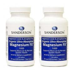 [샌더슨] 마그네슘 120정 2개(근육경련)