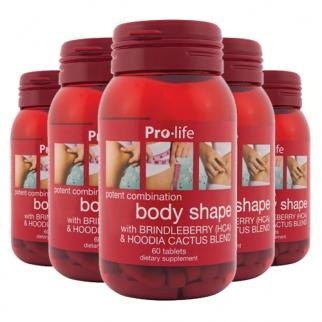[프로라이프]바디쉐이프/다이어트/지방분해/60캡슐 6개