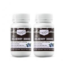[유비바이오] 빌베리 30000mg + 루테인 8mg 60베지캡슐 2개