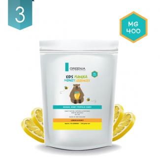 [그리니아] 마누카 로젠지 레몬 150G 25ea 3봉