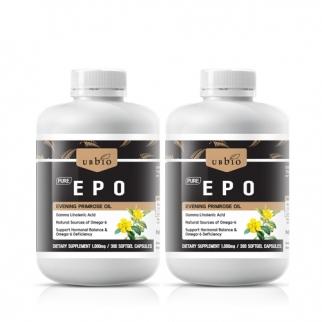 [유비바이오] 달맞이꽃종자유 EPO 1000mg 300cap 2개