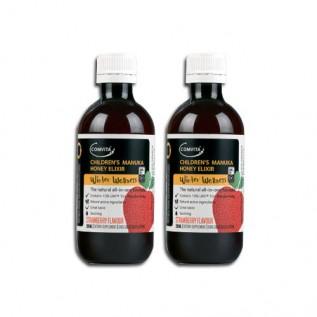 [콤비타] 일렉서 딸기맛(어린이 코푸시럽) 200ml 2개
