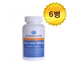 [샌더슨] 에스터 플렉스 비타민C 600mg 220s 6개