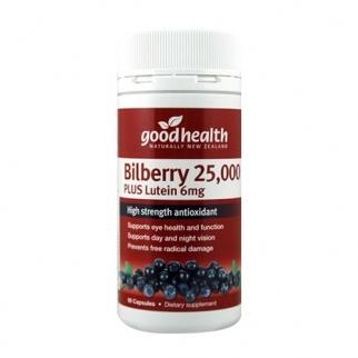 [굿헬스] 빌베리 25000+ 루테인 60캡슐 1개 (눈건강)
