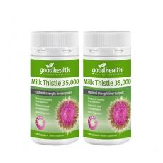 [굿헬스] 밀크시슬/엉겅퀴 35000mg 100캡슐 2개 (간건강)