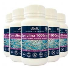[비타핏] 스피루리나 1000mg 250정 6개