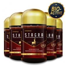 [그리니아] 스테그라 / 뉴질랜드 숫사슴 녹혈 120캡슐 6개
