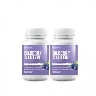 [그리니아] 빌베리 & 루테인 (눈건강) 90캡슐 2개