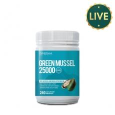 [그리니아] 그린머슬 25000 240캡슐 (100% 뉴질랜드 라이브 초록입홍합) 1개