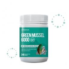 [그리니아] 그린머슬6000  / 100% 뉴질랜드 초록입홍합 240 캡슐 1개