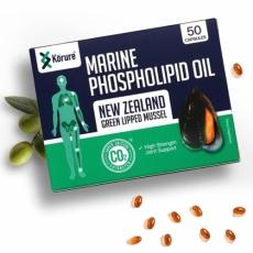[코루레] 뉴질랜드 초록홍합오일 50정 1개(관절에좋은음식)