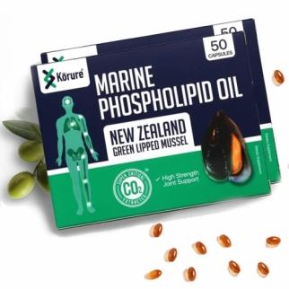 [코루레] 뉴질랜드 초록홍합오일 50정 2개(관절에좋은음식)