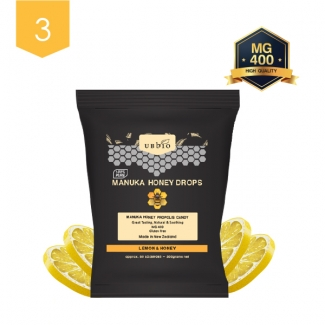 [유비바이오] 마누카 로젠지 레몬 150g 3봉