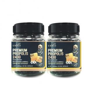 [유비바이오] 프리미엄 프로폴리스 2430 120 soft cap 2개
