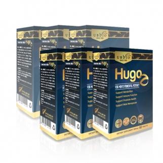 [유비바이오] 휴고지 815 mg 120정 6개 (남성 면역력관리-마카, 홍삼, 쏘팔메토 추출물)