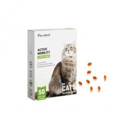 [펫아일랜드] ACTIVE MOBILITY 고양이 면역&관절영양제 50정 1개