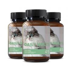 [펫 아일랜드] 데일리 멀티 비타민 (휴먼 그레이드/고양이 영양제) 45캡슐 3개